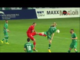 Cosmin Motti Karate Kick against Stefan Nikolic, 4 April, 2015, Ludogorets Razgrad vs CSKA