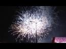 Краснодару 224 - финальная песня гала-концерта и салют на Театральной площади (23.09.17)