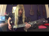 Keep Of Kalessin - The Divine Land guitar cover by Simone van Straten