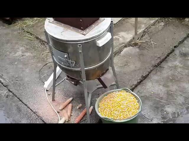 Кукурузолущилка своими руками 86