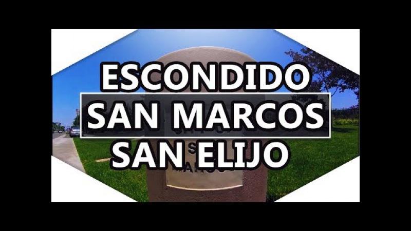 Escondido, San Marcos, San Elijo hills - cities - San Diego County, California, USA - video