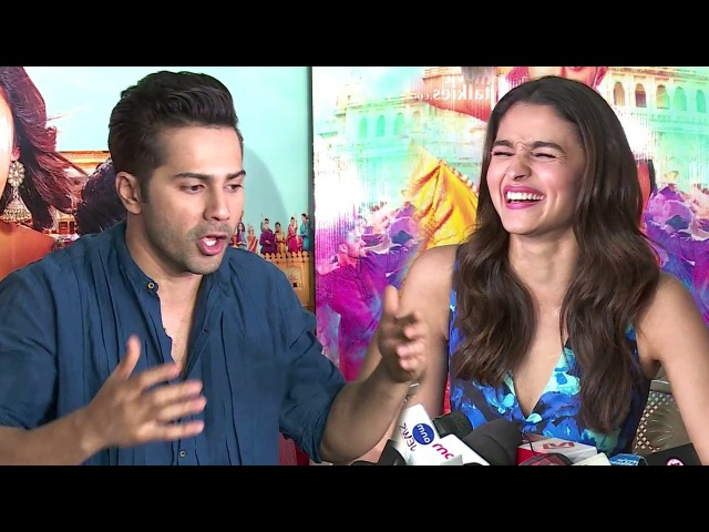 Alia Bhatt Varun Dhawan's Mind Blowing Interview For Badrinath Ki Dulhaniya Full Video HD