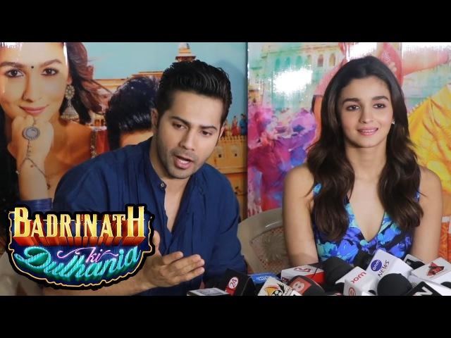 Varun Dhawan Alia Bhatt's Full Interview - Badrinath Ki Dulhania