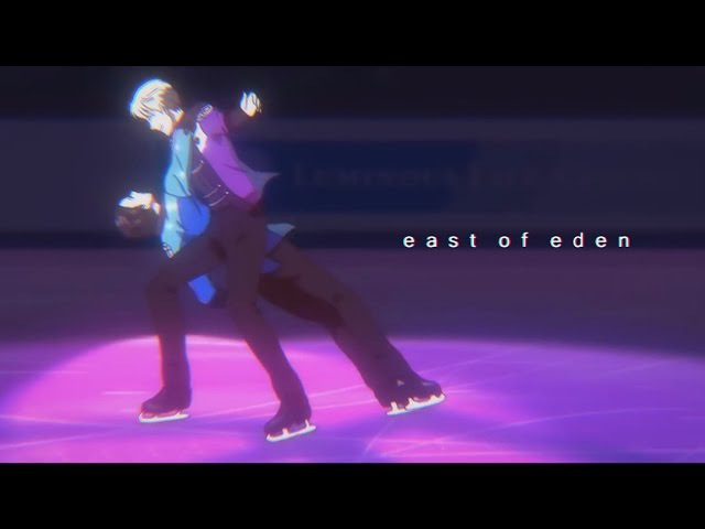 ❄ Yuri on Ice | Yuri x Victor ❄ East of Eden AMV