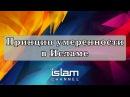 Эльмир Кулиев Принцип умеренности в Исламе Лекция