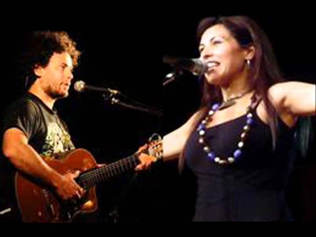 Roxana Carabajal - No dejaré de amarte (Con Raly Barrionuevo).wmv