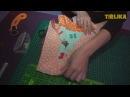Мастер класс Как сшить букву-подушку