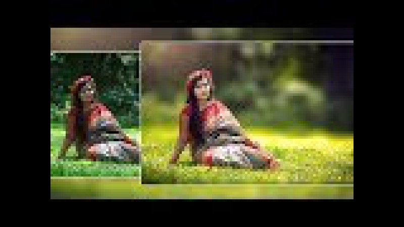 Photoshop Tutorial : How To Edit Outdoor Portrait ( Blur Background and Soft Light Effect )