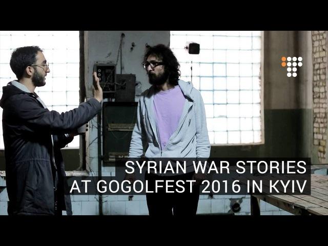 Syrian War Stories At Gogolfest 2016 in Kyiv