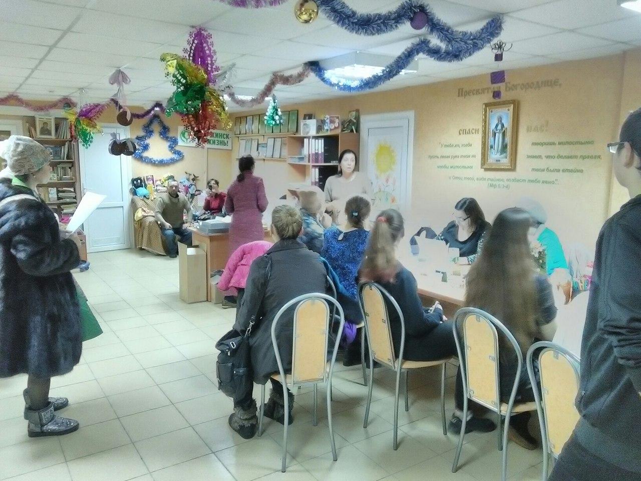 Генеральная репетиция Рождественских поздравлений.