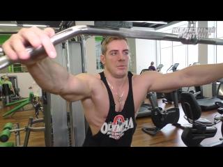 Секрет тренировки спины от Николая Кулешова, победителя московской Олимпии в номинации про-менсфизик.