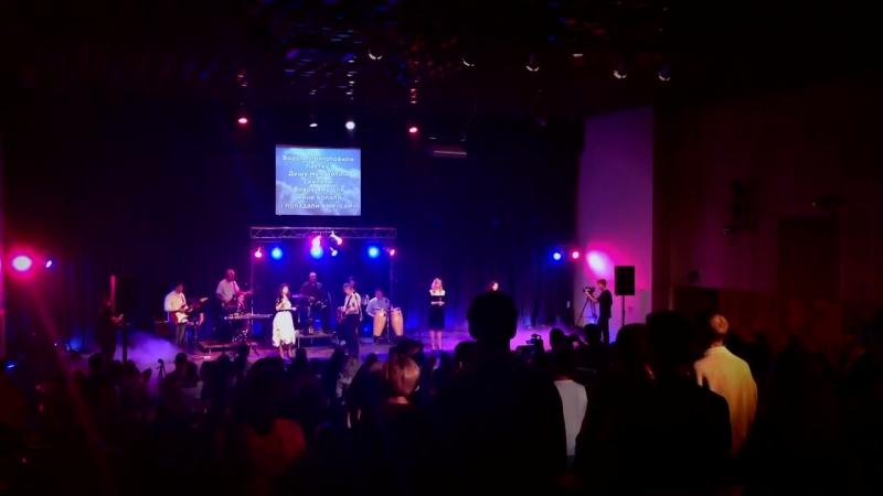 Вечір хвали і поклоніння церква - Свідоцтво Христа - 2014 (Прославлення і поклон