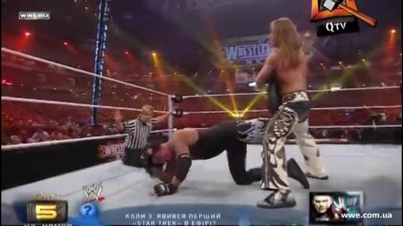 [WWE QTV]☆[Cамці Савців]Wrestlemania 26[[Shawn Michaels vs The Undertaker]☆[Шон Майклз против Гробовщика]/vk.com/wwe_restling_qt