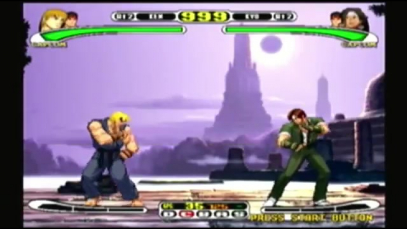 Capcom Vs SNK Pro - Ryu Ken Playthrough