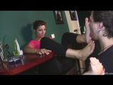 Goddess Victoria Foot Cleaning Caffe licking feet #slave #femdom #trampling #fetish #foot #mistress