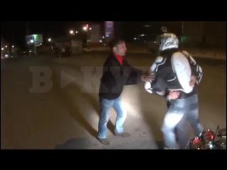 В Перми байкеры наказали пьяного водителя