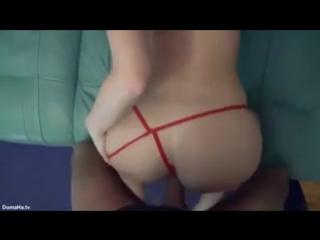 Домашнее фото секса в стрингах — photo 9