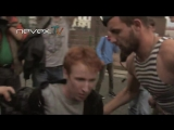 Камикадзе-гей, ВДВ и ОМОН - встреча на Дворцовой 02.08.2013