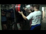Андрей Коновалов - присед 410 кг в бинтах