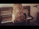 Жанна Ковалёва, piano cover Sting Shape of my Heart