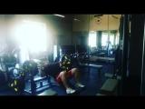 Тренировка в понедельник. Жим лежа 170 кг 5 подходов 5-6 .Жим под углом 130 кг 4 по 10.брусья 3 по 20