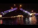 Дворцовый разводной мост в Санкт Петербурге