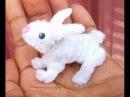 🐇 Como hacer un conejo con limpiapipas