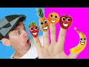 Finger Family Song - Fruit Family With Matt Nursery Rhymes, Childrens Song Learn English Kids