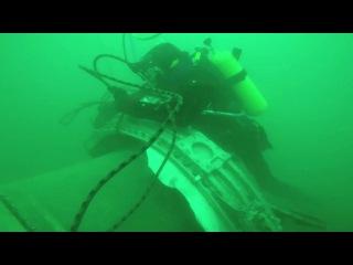 Опубликовано видео обследования водолазами обломков Ту 154