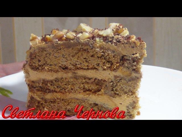 ТОРТ без выпечки из овсяного печенья .ОЧЕНЬ ПРОСТОЙ РЕЦЕПТ/CAKE without baking