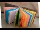 БлокнотИк Своими Руками Без Клея Оригами Для Начинающих Школа Поделки Подарки С...