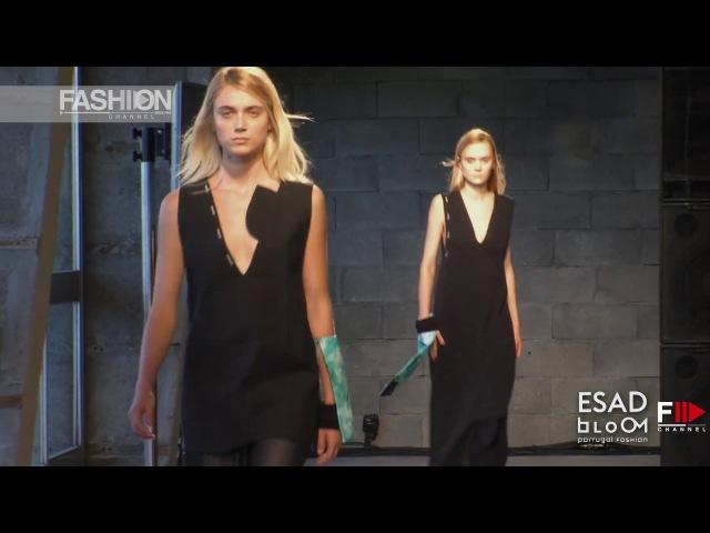 PORTUGAL FASHION SS17 BLOOM | ESAD | by Fashion Channel