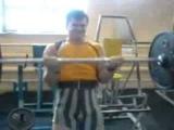 17 лет бицепс под 80 кг