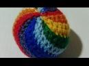 Ирина Шерекина Радужный мячик Rainbow Ball Amigurumi Crochet