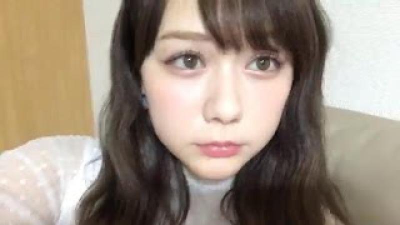 2017年05月07日 村重杏奈(HKT48 チームKIV) SHOWROOM あーにゃ
