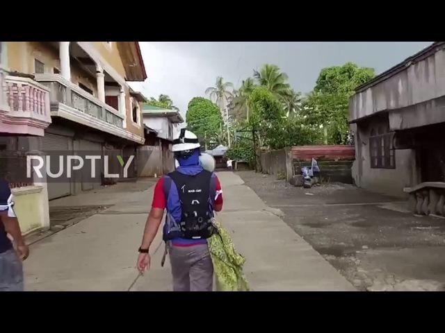 Филиппины: «Команда самоубийц» рискует жизнью, чтобы эвакуировать ИГИГ-осажденного Марави.