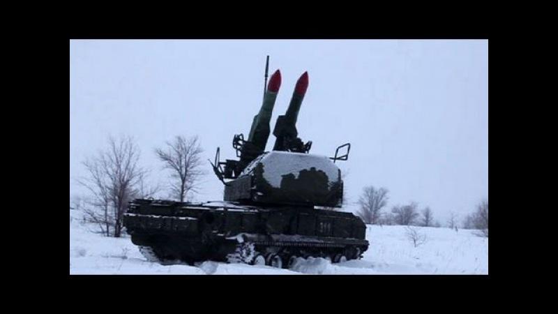ЗРК «Бук-М2» прикрыли войска под Оренбургом от воздушного удара