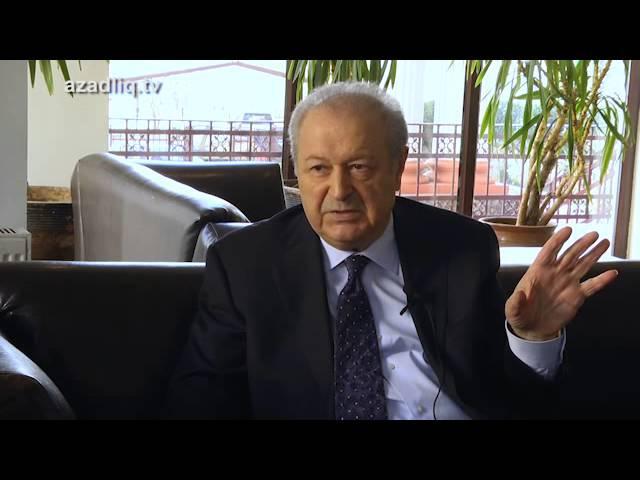 AR I prezidenti Ayaz Mütəllibovun Azadlıq Radiosuna müsahibəsi