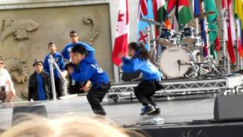 9-year-old Lucky Aces hip-hop dance performance @ Surrey Fusion Festival