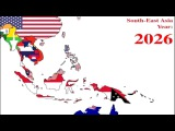The current prediction of Southeast Asia 2001 to 2070