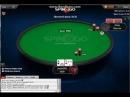 Интересная двойная победа. Игра в покер на деньги.