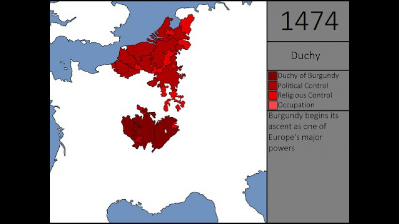Rise and Fall of Burgundy