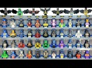 Epic LEGO Batman Minifigures includes every Official Lego Batsuit KnockOffs Custom MOC Collection