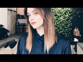 beautiful women haircut medium length