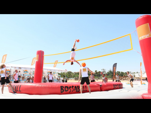 Orange Bossaball Tour in Tunisia