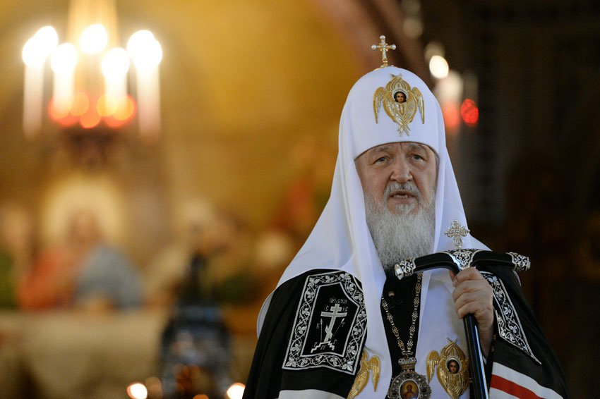 Патриарх Кирилл выразил соболезнования в связи с авиакатастрофой Ту-154 под Сочи