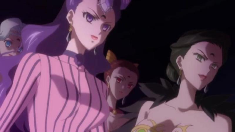 Sailor Moon Crystal_ Граф Монте Кристо- Кто вы Граф