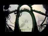 Новосибирск из штурманской кабины Ту-134