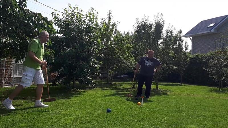 Крокет. Golf Croquet.