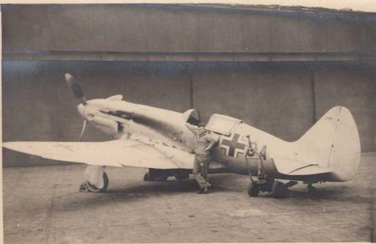 Трофейный немецкий МиГ-3